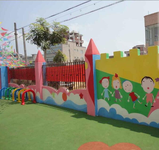 幼儿园彩绘墙面,幼儿园涂鸦墙,墙体画画,绘画公司