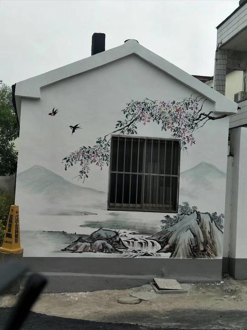 墙体绘画公司,新农村墙体彩绘,墙绘涂鸦,壁画墙绘