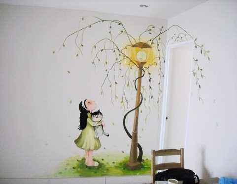 墙手绘,墙壁手绘,乡村文化墙彩绘,墙体彩绘涂鸦,彩绘墙